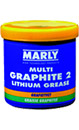 Marly Multi Purpose graphite EP2 Grease, 500g